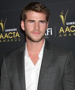 Liam Hemsworth at AACTA Awards