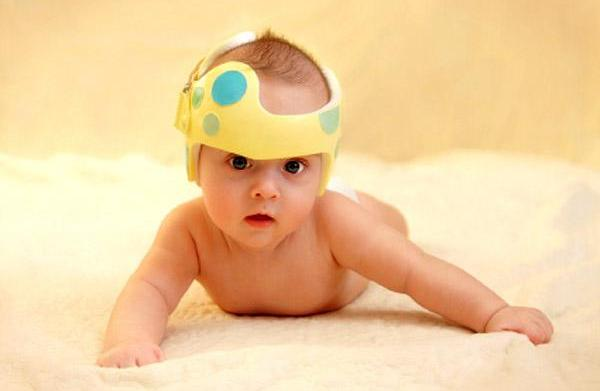 Preventing flat spots on baby's head