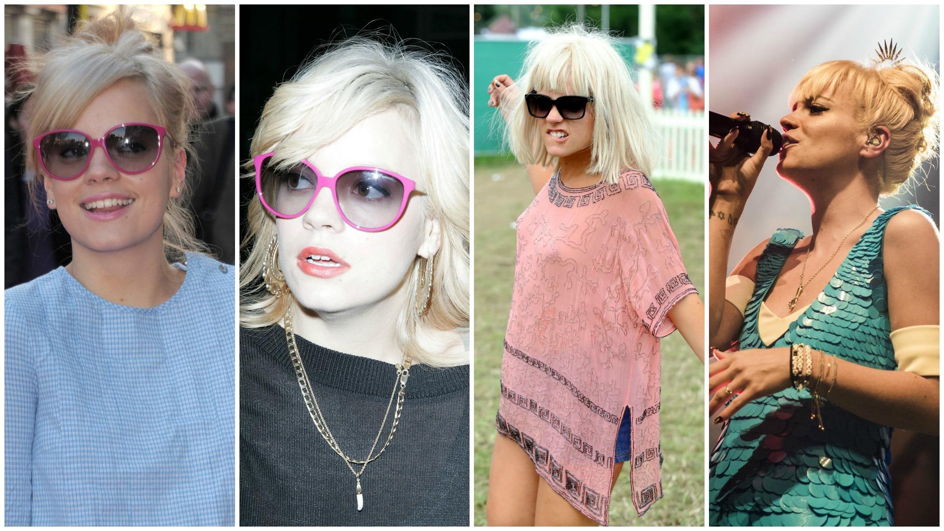 Lily Allen was blonde way before Kim Kardashian
