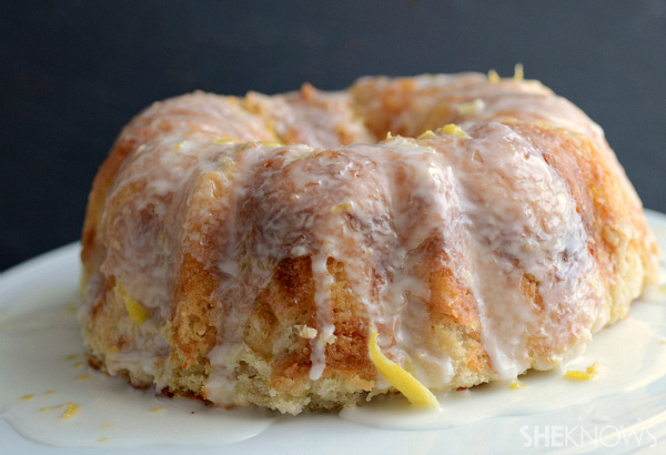 Limoncello pull-apart monkey bread recipe