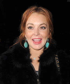 Lindsay Lohan closeup