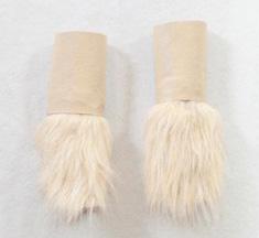 Lion paw cuffs
