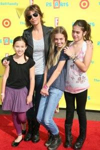 Lisa Rinna and her kids