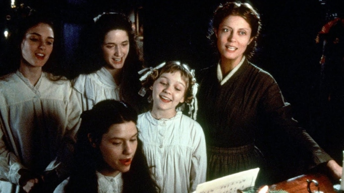 The cast of the 1994 adaptation of 'Little Women.'