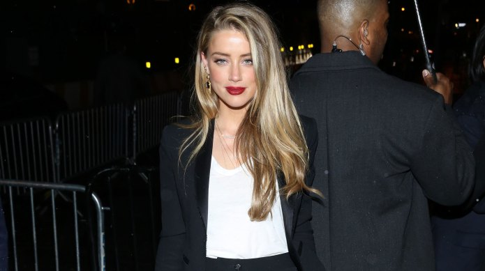 Amber Heard is suing the man
