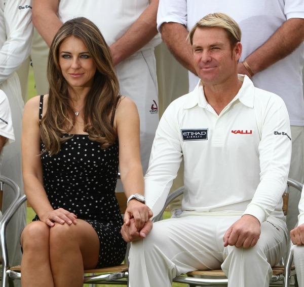 Have Liz Hurley and Shane Warne split up?