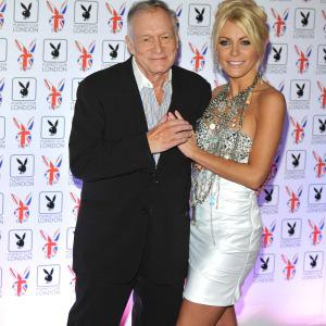 "Hugh and Crystal Hefner are ""happier"