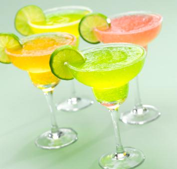 Frozen Vegan Margaritas