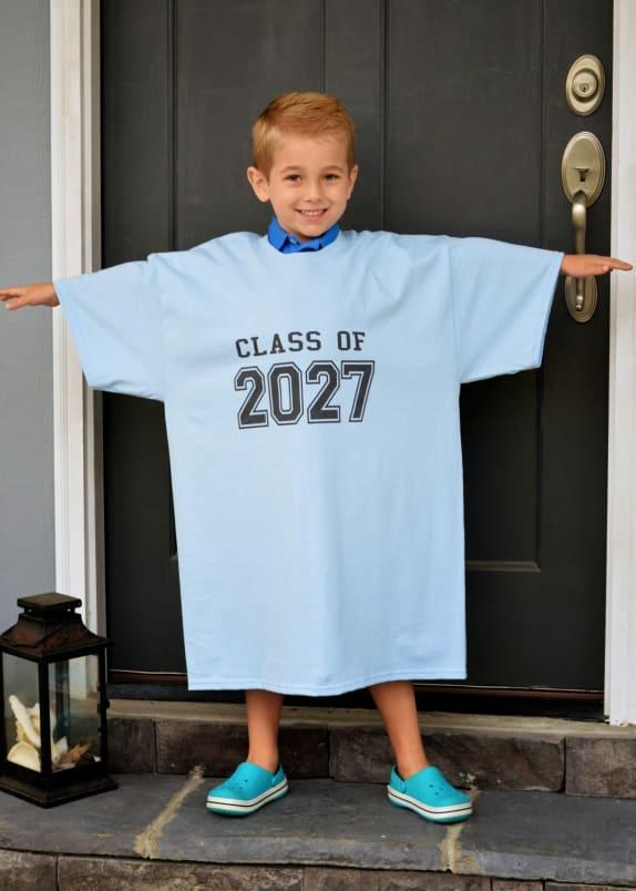 'Class of' t-shirt