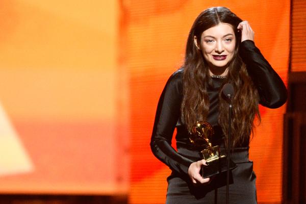 Lorde 2014 Grammy Awards