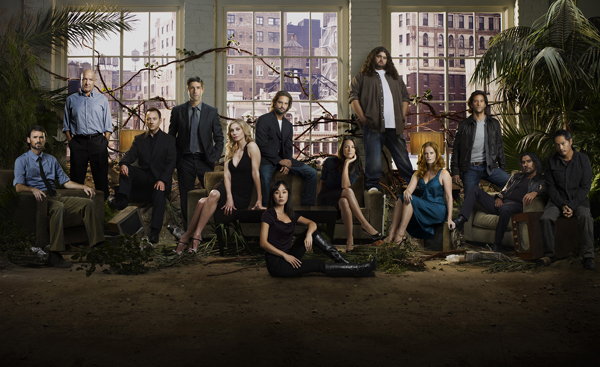 The cast of ABC's Lost
