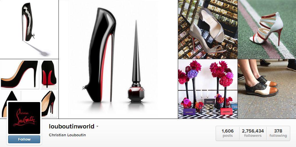 Louboutin's Instagram | Sheknows.ca
