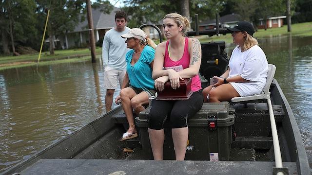 Louisiana flooding 2016