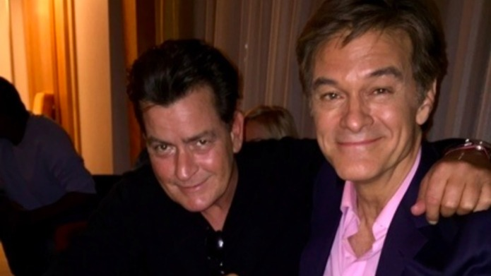Charlie Sheen tweets about arthritic goat