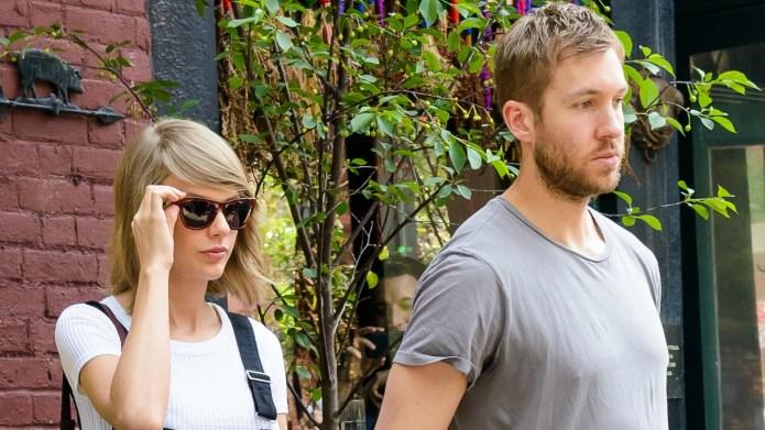 Calvin Harris and Taylor Swift reunite,