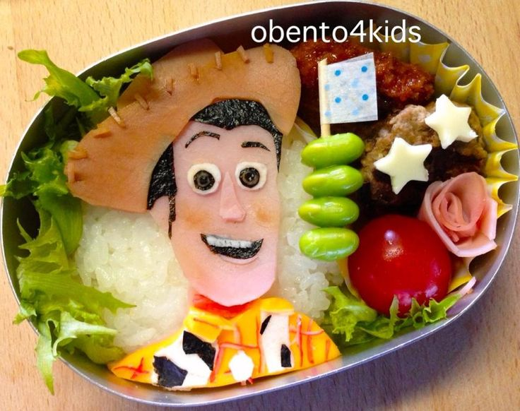 Toy Story lunch for kids