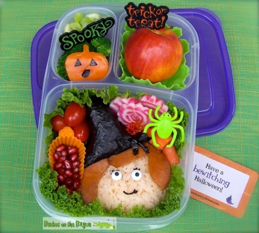 Halloween lunch for kids