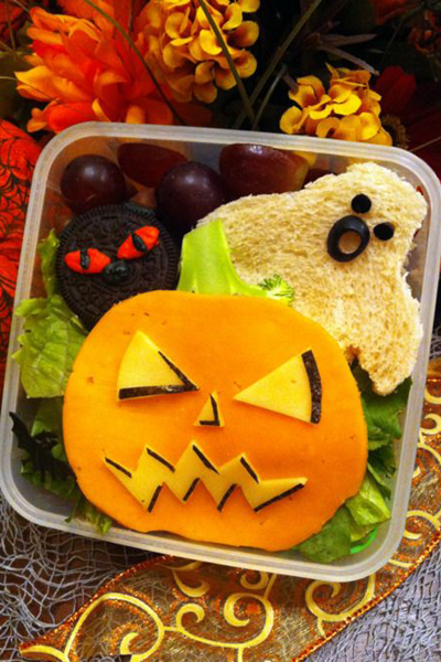 Halloween school lunches for kids