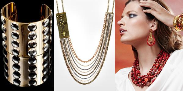 Hot jewelry trends for spring