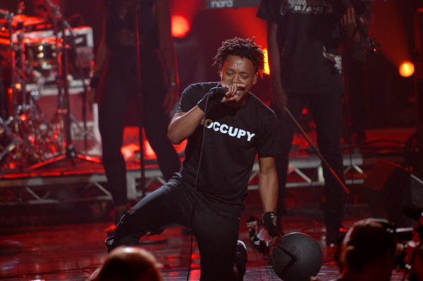 Lupe Fiasco at the 2011 BET Awards