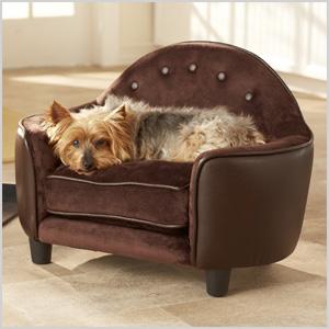 Gentil Ultra Plush Headboard Dog Sofa