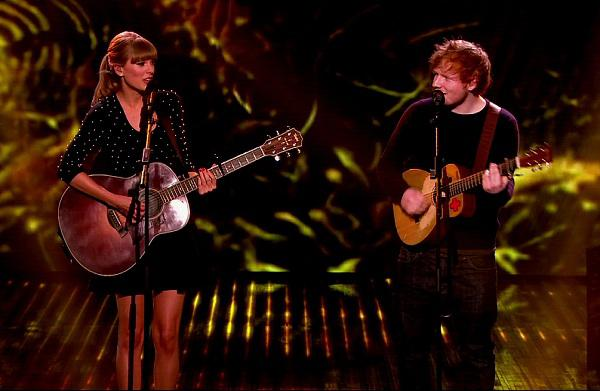 "Taylor Swift featuring Ed Sheeran ""Everything"