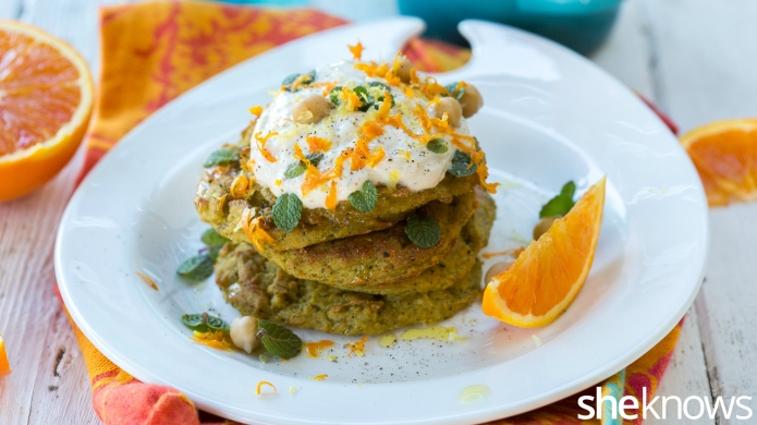 Meatless Monday: Healthy chickpea-zucchini patties spiked