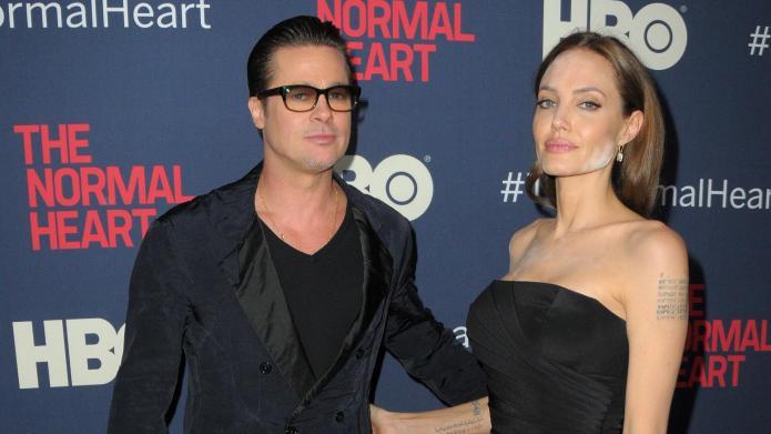 Angelina Jolie suffers makeup malfunction on