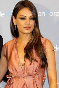 Mila Kunis says it's your fault