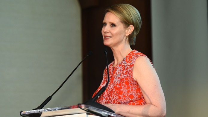 Cynthia Nixon's Political Legitimacy Questioned by