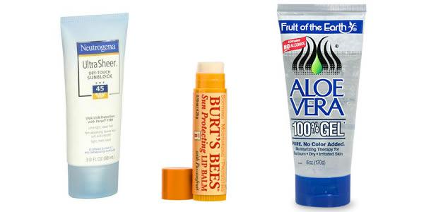 6 Beach bag beauty essentials