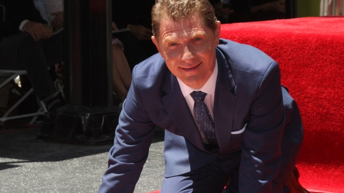 Bobby Flay honored on the Hollywood