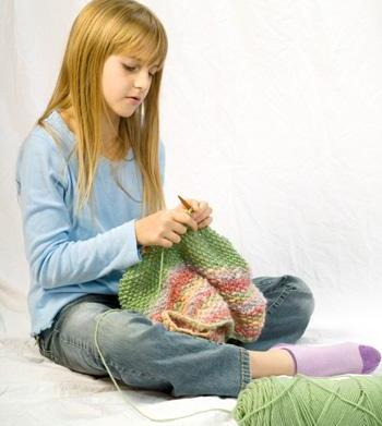 Teach your kids to knit