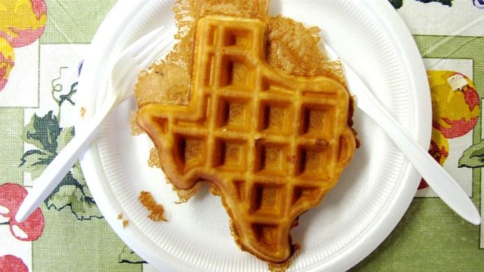 waffle, texas sized
