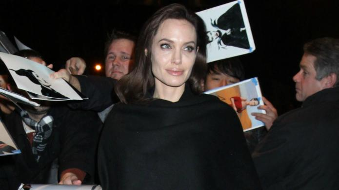 Awkward! Angelina Jolie's reaction to seeing
