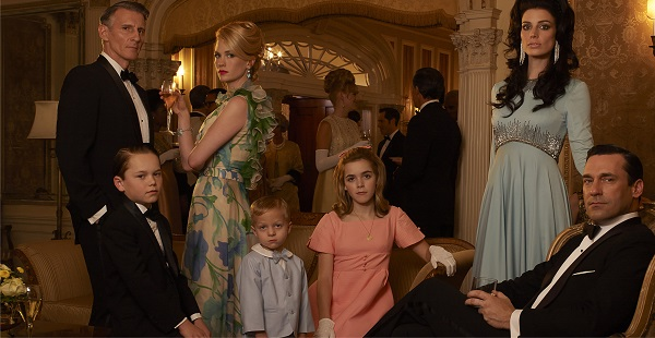 Mad Men's Drapers are a dysfunctional family