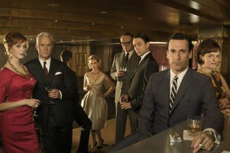 The cast of AMC's Mad Men