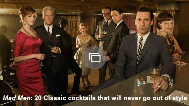 mad men cocktails