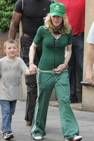 Madonna's son Rocco following in Kate Middleton's footsteps