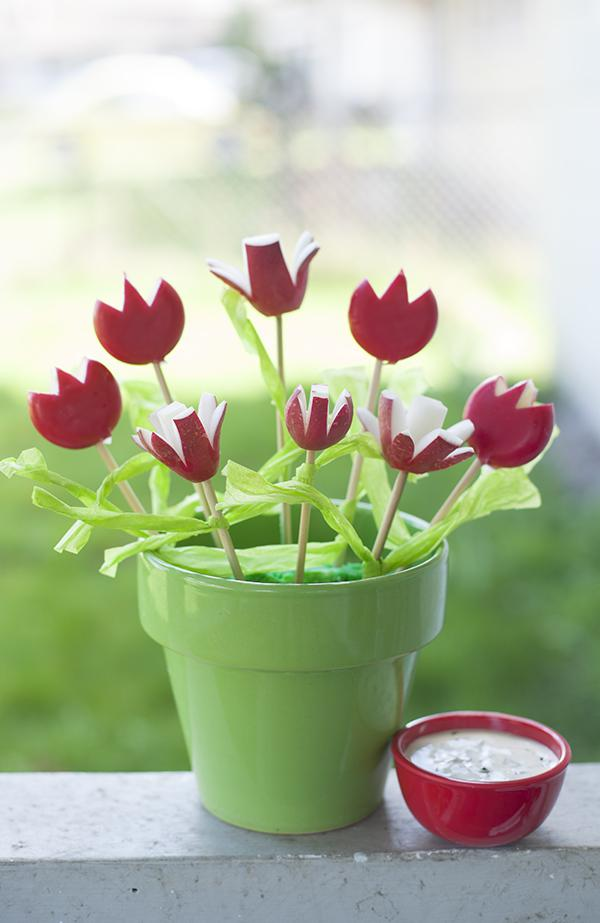 These tulips are good enough to