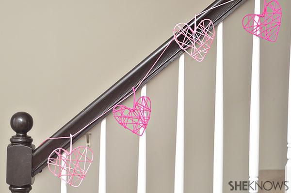 Heart garland | Sheknows.com - Final Product