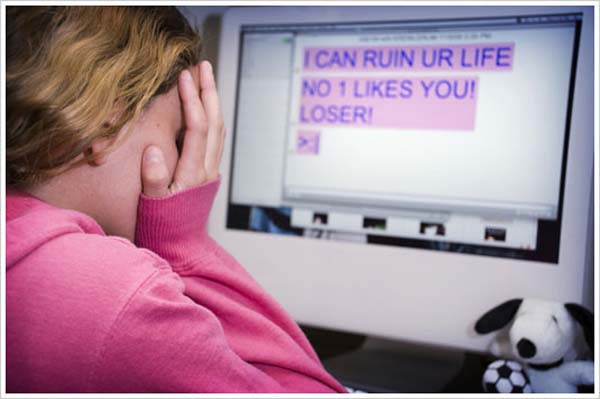Cyberbullying is an increasing problem.