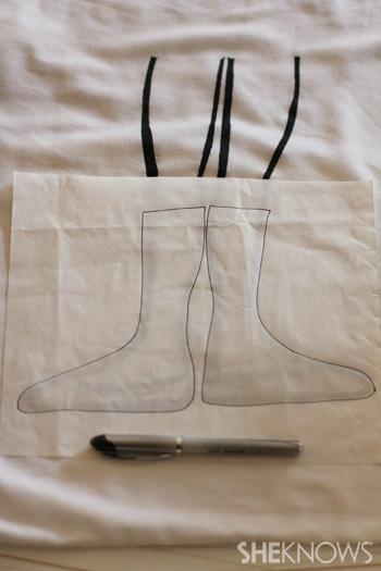 Create shoe template
