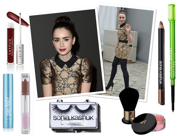 Makeup profile: Lily Collins -- Fairest of them all look