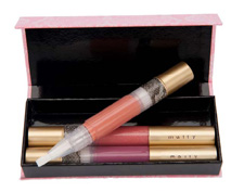 Mally Volumizing Lip Gloss Three-Piece Library