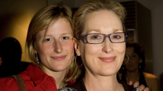 Mamie Gummer and Meryl Streep at