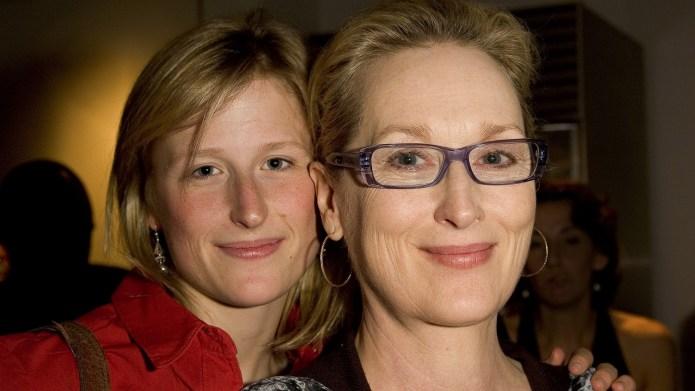 Mamie Gummer and Meryl Streep at