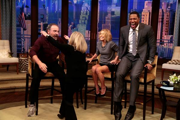 Mandy Patinkin on Live with Kelly and Michael