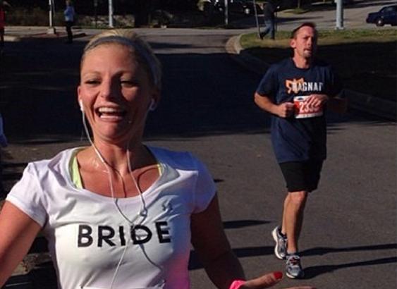 marathon bride