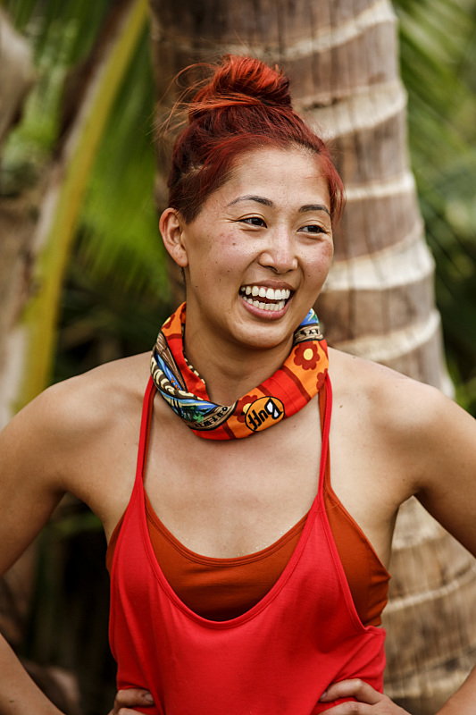 Mari Takahashi on Survivor: Millennials Vs. Gen-X
